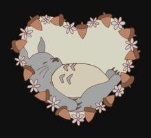 Sleeping Totoro One Piece - Short Sleeve