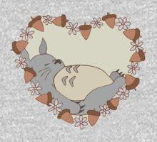 Sleeping Totoro One Piece - Long Sleeve