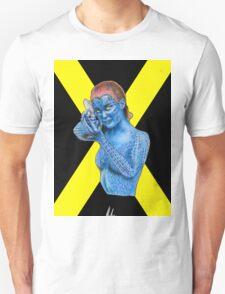 Mystique - X-Men: Days of Future Past (Jennifer Lawrence) [X Logo] Unisex T-Shirt
