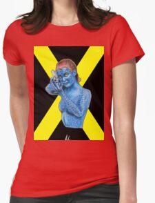 Mystique - X-Men: Days of Future Past (Jennifer Lawrence) [X Logo] Womens Fitted T-Shirt