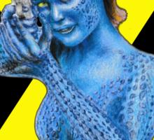 Mystique - X-Men: Days of Future Past (Jennifer Lawrence) [X Logo] Sticker