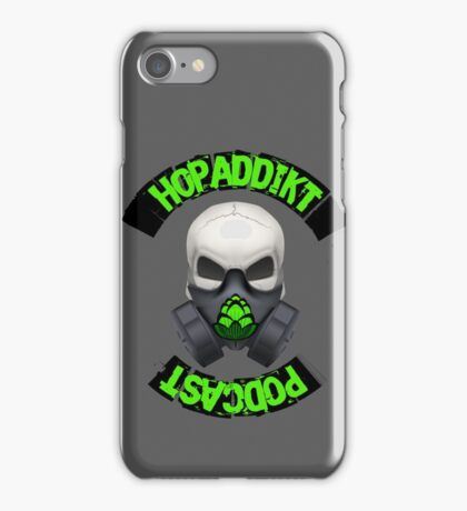 Hop Addikt Podcast iPhone Case/Skin
