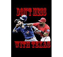 dont mess with texas Photographic Print