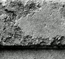 Black and White Brick Wall Sticker