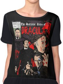 The Satanic Rites of Dracula Chiffon Top