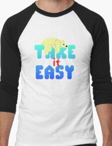 Polar Bear - Take It Easy Men's Baseball ¾ T-Shirt