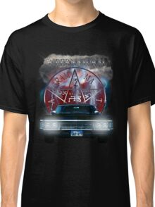 Supernatural Theme Car Classic T-Shirt