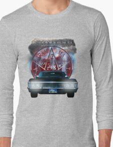 Supernatural Theme Car Long Sleeve T-Shirt