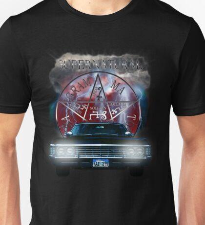 Supernatural Theme Car Unisex T-Shirt