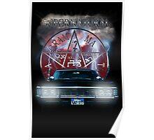 Supernatural Theme Car Poster