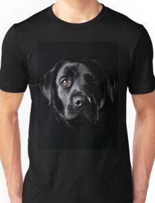 Black Lab Face  Unisex T-Shirt
