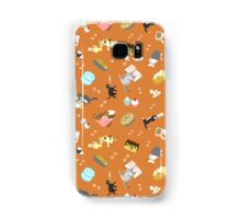 Cats Baking Cakes and other Sweets, in Orange Samsung Galaxy Case/Skin