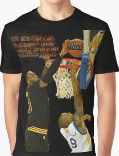 Lebron blocking the haters Graphic T-Shirt