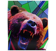 Fragments of Nature, Bear Poster