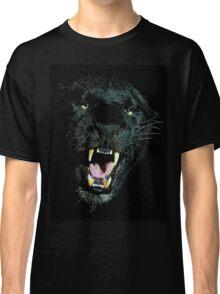 Black Panther Face Classic T-Shirt