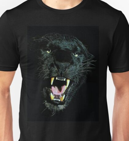Black Panther Face Unisex T-Shirt