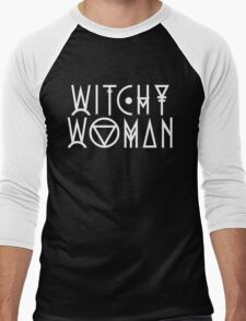 Witchy Woman Men's Baseball ¾ T-Shirt