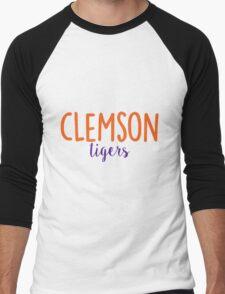 Clemson University Men's Baseball ¾ T-Shirt