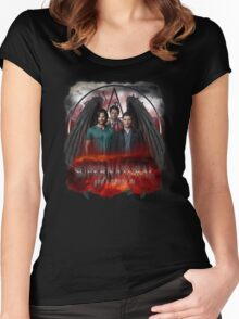 Supernatural Gods Among us 2 Women's Fitted Scoop T-Shirt