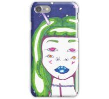 Alien Girl iPhone Case/Skin