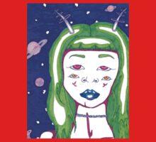 Alien Girl Kids Tee