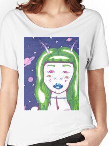 Alien Girl Women's Relaxed Fit T-Shirt