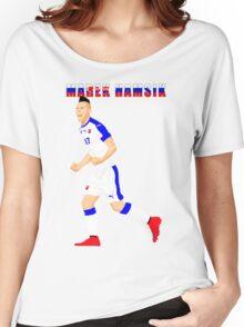 MAREK HAMSIK SLOVAKIA, EURO, VECTOR Women's Relaxed Fit T-Shirt
