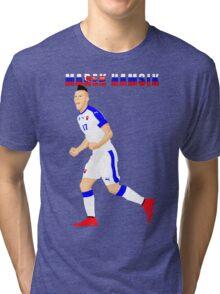 MAREK HAMSIK SLOVAKIA, EURO, VECTOR Tri-blend T-Shirt