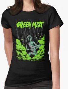 Green Mist Womens Fitted T-Shirt