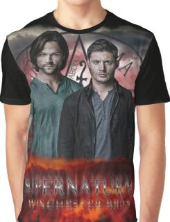 Supernatural Winchester Bros Graphic T-Shirt