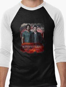 Supernatural Winchester Bros Men's Baseball ¾ T-Shirt
