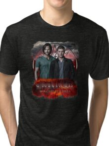 Supernatural Winchester Bros Tri-blend T-Shirt