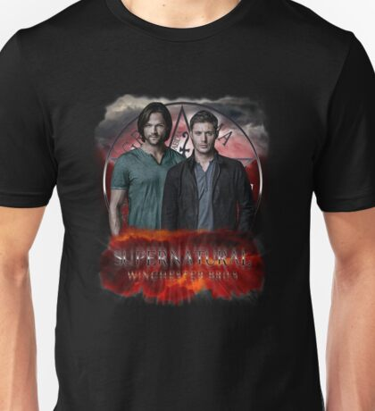 Supernatural Winchester Bros Unisex T-Shirt