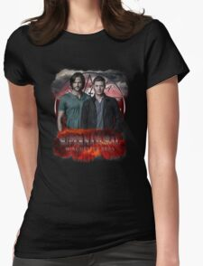 Supernatural Winchester Bros Womens Fitted T-Shirt