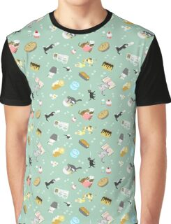 Cats Baking Cakes and other Sweets Graphic T-Shirt
