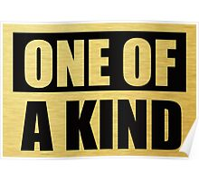G Dragon GD One of A Kind - Gold T-Shirt Poster