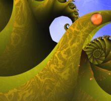 The Sea Monster Sticker