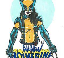 All New Wolverine! by Matthew Merys
