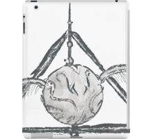Deathly Hallows Snitch iPad Case/Skin