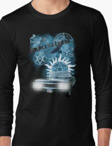 Supernatural theme 2 Long Sleeve T-Shirt