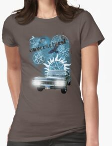 Supernatural theme 2 Womens Fitted T-Shirt