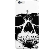 macabre skull design iPhone Case/Skin
