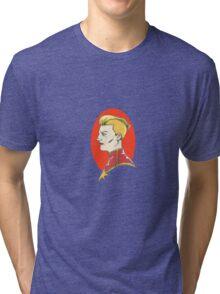 Captain Marvel Tri-blend T-Shirt
