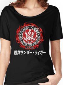 JUSHIN THUNDER LIGER JAPAN PRO WRESTLING NJPW LOGO  Women's Relaxed Fit T-Shirt