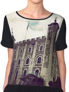 The Looming Tower Of London Chiffon Top