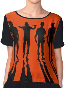 A Clockwork Orange Chiffon Top