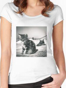 Family Fued Women's Fitted Scoop T-Shirt