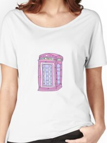love portal phone booth Women's Relaxed Fit T-Shirt