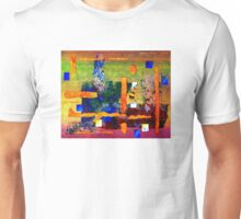 Collage on Lace Unisex T-Shirt