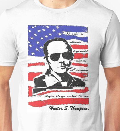 Hunter .S. Thompson. Unisex T-Shirt